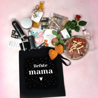 MOMMY BAG ZWART